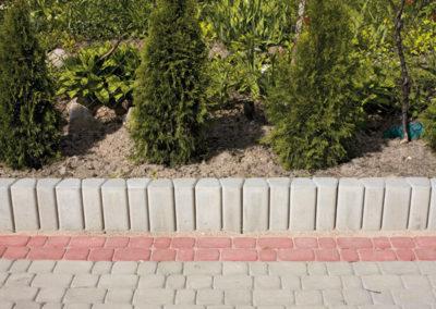 Palisada-trapezowa-betonowa-producent-ABW-superbruk-bialystok-realizacja-07